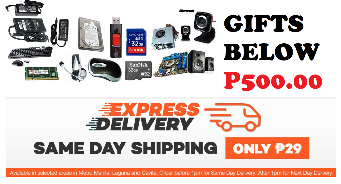 10 GIFTS BELOW 500 PESOS WITH SAME DAY DELIVERY