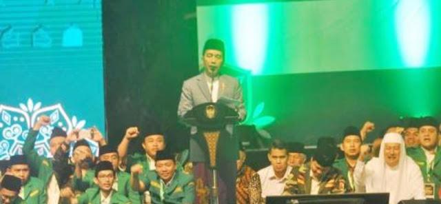 Apresiasi Presiden Jokowi Terhadap Langkah dan Komitmen Ansor : Ansor itulah Semangat Asli Indonesia