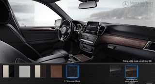 Nội thất Mercedes GLE 400 4MATIC Exclusive 2016 màu Đen 211