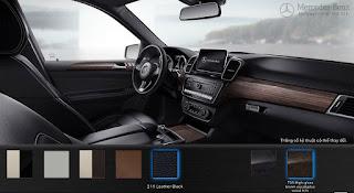 Nội thất Mercedes GLE 400 4MATIC Exclusive 2017 màu Đen 211