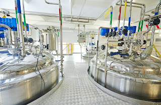 pharmaceutical sanitary process tanks batch operation