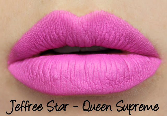 Jeffree Star Velour Liquid Lipstick - Queen Supreme Swatches & Review