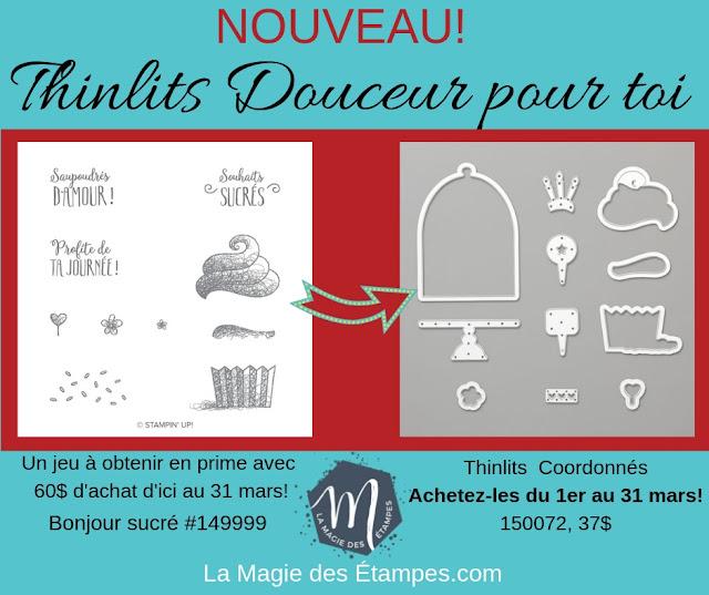 Produits coordonnés aux primes Sale-a-bration 2019