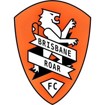 Logo Klub Sepakbola Brisbane Roar PNG