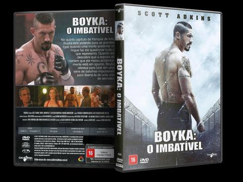 Capa DVD Boyka: O Imbatível