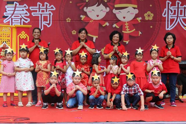 Serunya Perayaan Tahun Baru Imlek KB-TK Kristen Kalam Kudus Surakarta