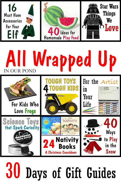 All Wrapped Up- a gift guide series from In Our Pond
