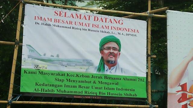 Lagi-lagi Habib Rizieq Batal Pulang, Alumni 212 Saling Serang