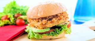 Resep Burger Tempe
