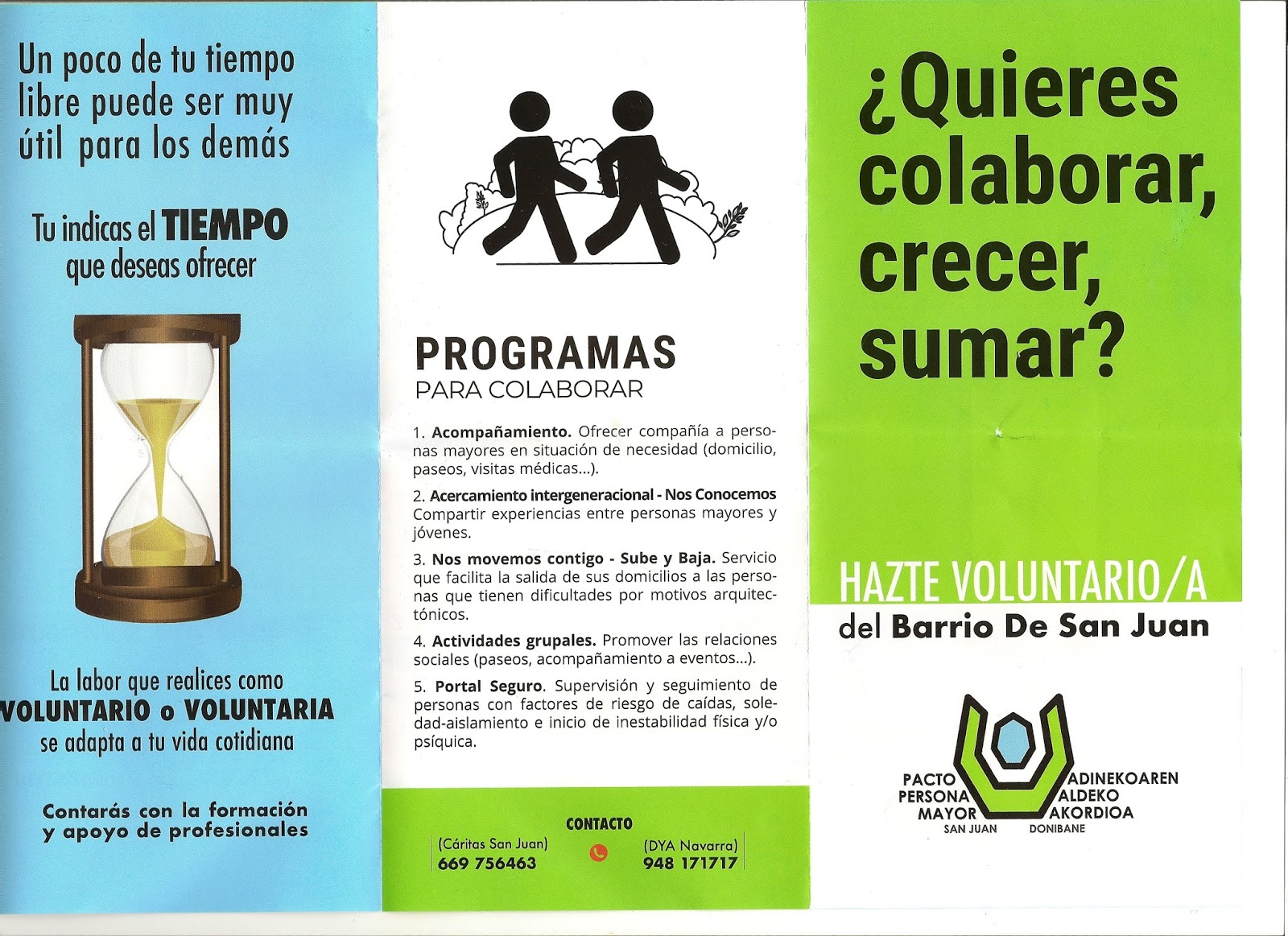Programa de Voluntariado para el Mayor