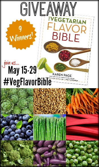 The Vegetarian Flavor Bible Giveaway #VegFlavorBible