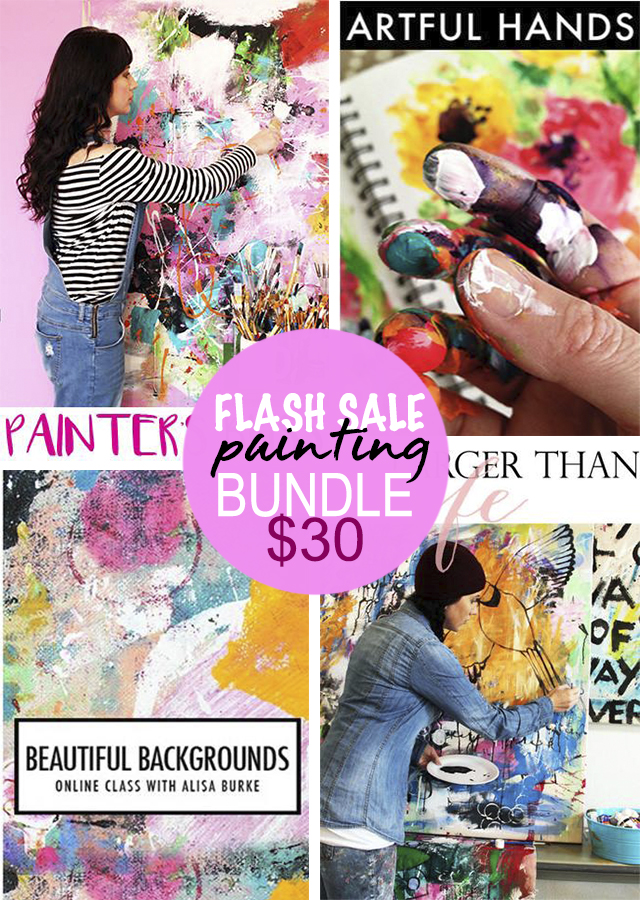 24 hour flash sale! painting bundle!