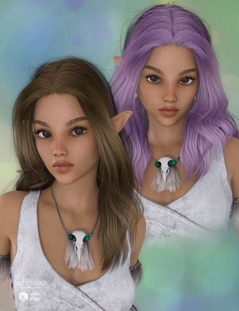 Ktarya Bundle for Genesis 3 and Genesis 8 Female