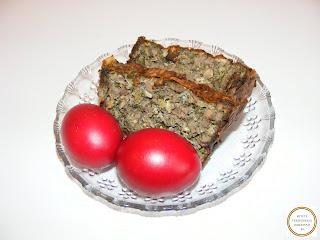 Drob si oua rosii reteta,