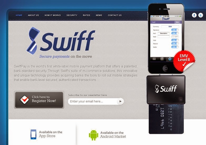 Swiff Account Payments Screen