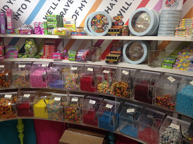Oklahoma city mall candy store