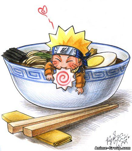 naruto eating ramen coloring pages - photo#41