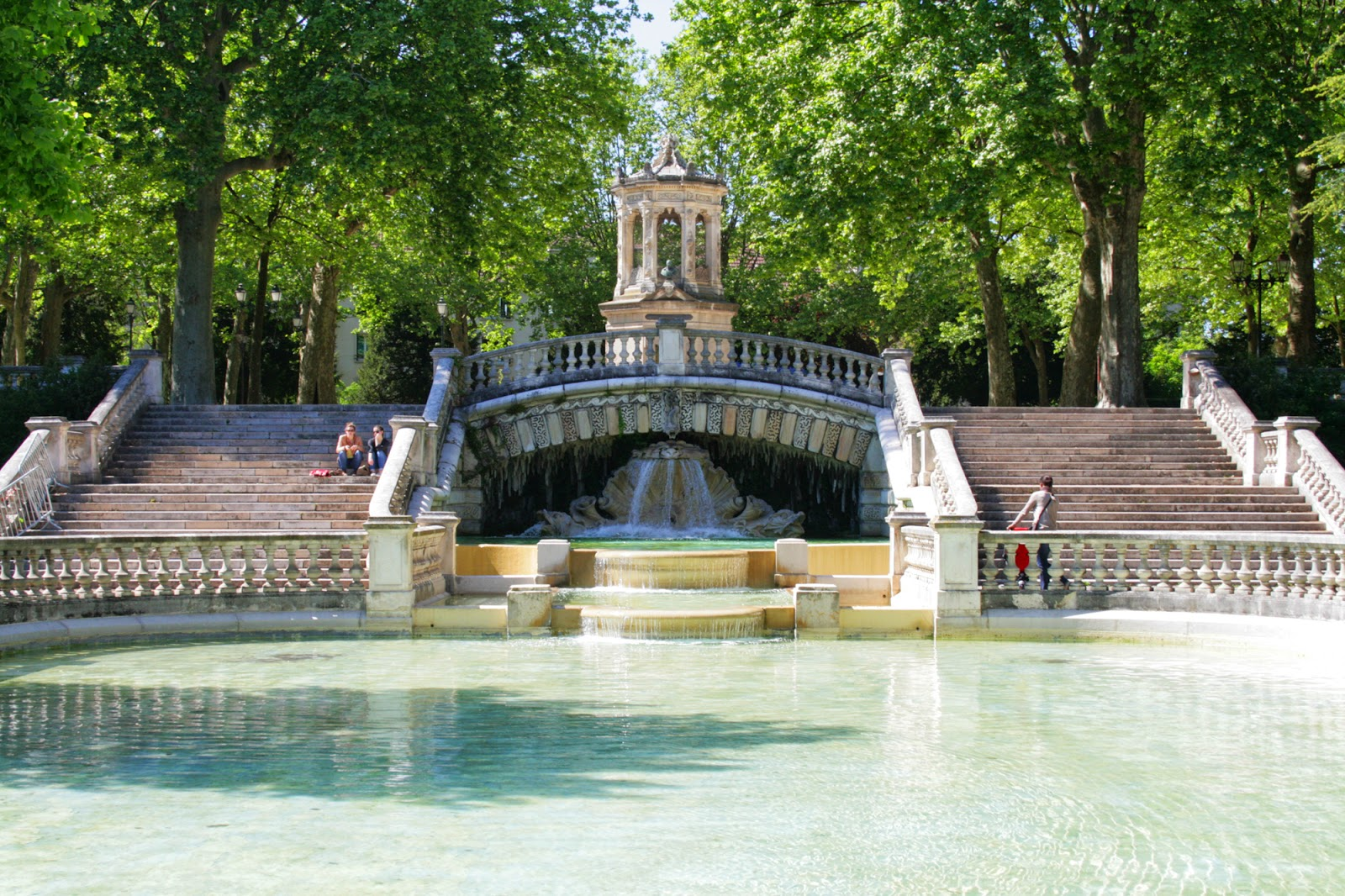 Fontaine Parc Darcy