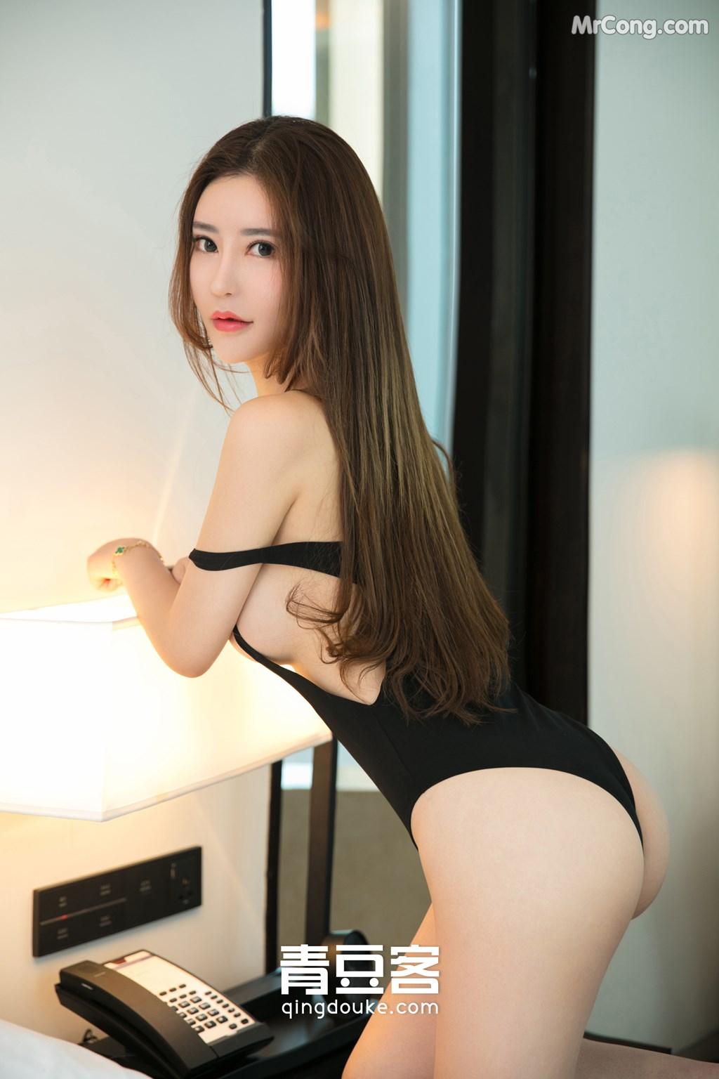 Image QingDouKe-2017-11-12-Tong-Man-MrCong.com-003 in post QingDouKe 2017-11-12: Người mẫu Tong Man (佟蔓) (50 ảnh)