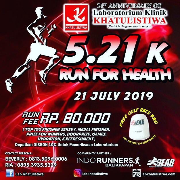5.21K Run for Health • 2019
