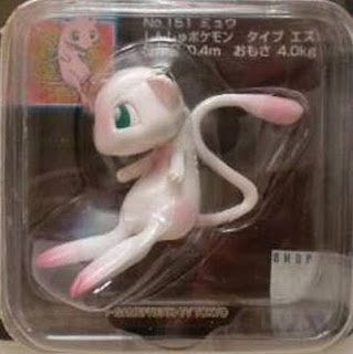 Mew figure Tomy Monster Collection black package series
