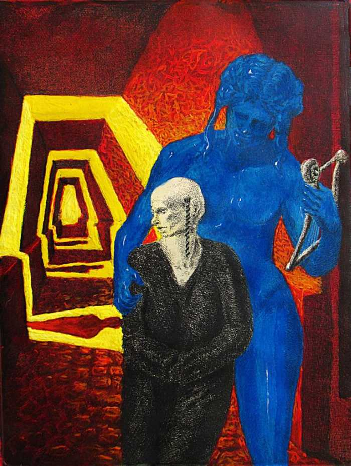 Итальянский художник. Antonio Mele