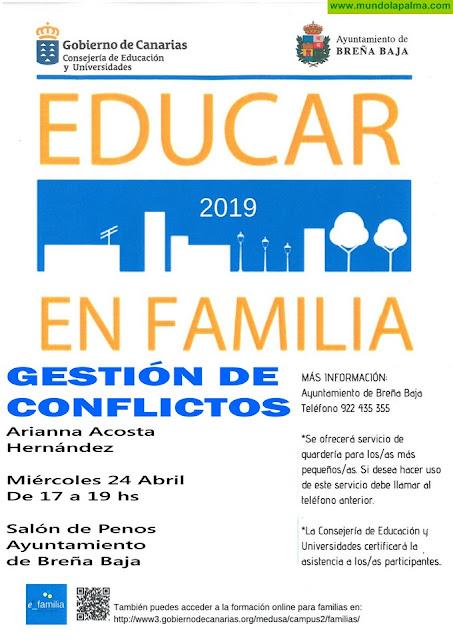 """EDUCAR EN FAMILIA BREÑA BAJA: """"Gestión de Conflictos"""""""