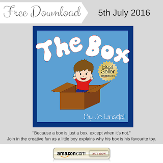 """The Box by Jo Linsdell has all the makings of a favorite children's book: simple,imaginative and fun."" #FREE #Books #KidLit"