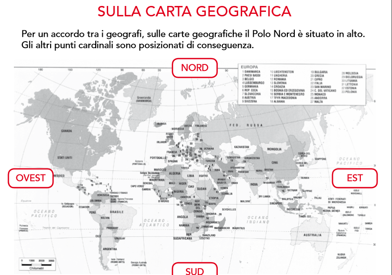 Exceptionnel Guamodì Scuola: Schede didattiche di geografia da scaricare  LF75