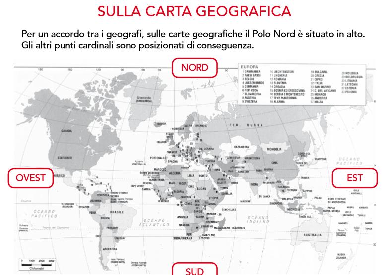 Guamodì Scuola: Schede Didattiche Di Geografia Da