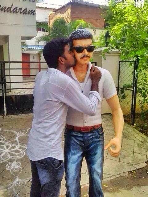 actor vijay statue facebook vijayfansclub fvfc chennai