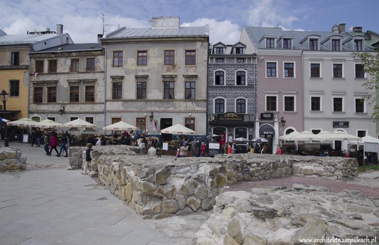 Architekt na szpilkach w Lublinie, stare miasto