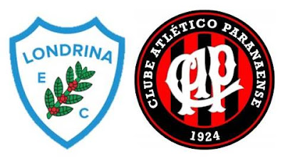 Jogo Londrina x Athletico ás 16:00  pelo Paranaense