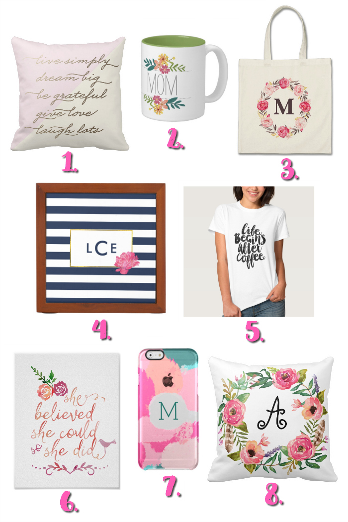 Mother's Day Gift Ideas from Zazzle.com |sponsored| pitterandglink.com