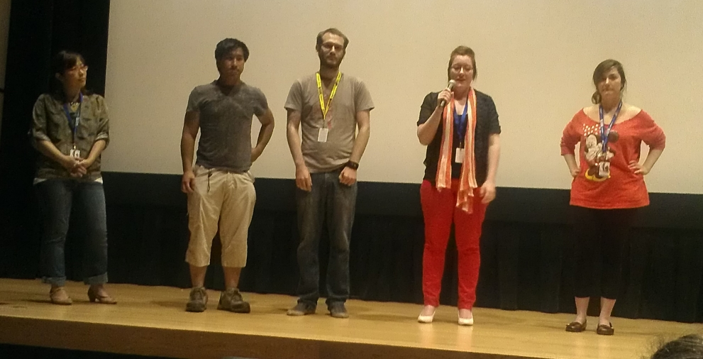 OUTER LIMITS OF ANIMATION 2014 filmmakers
