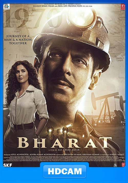 Bharat 2019 Hindi 720p PreDVD x264 | 480p 300MB | 100MB HEVC