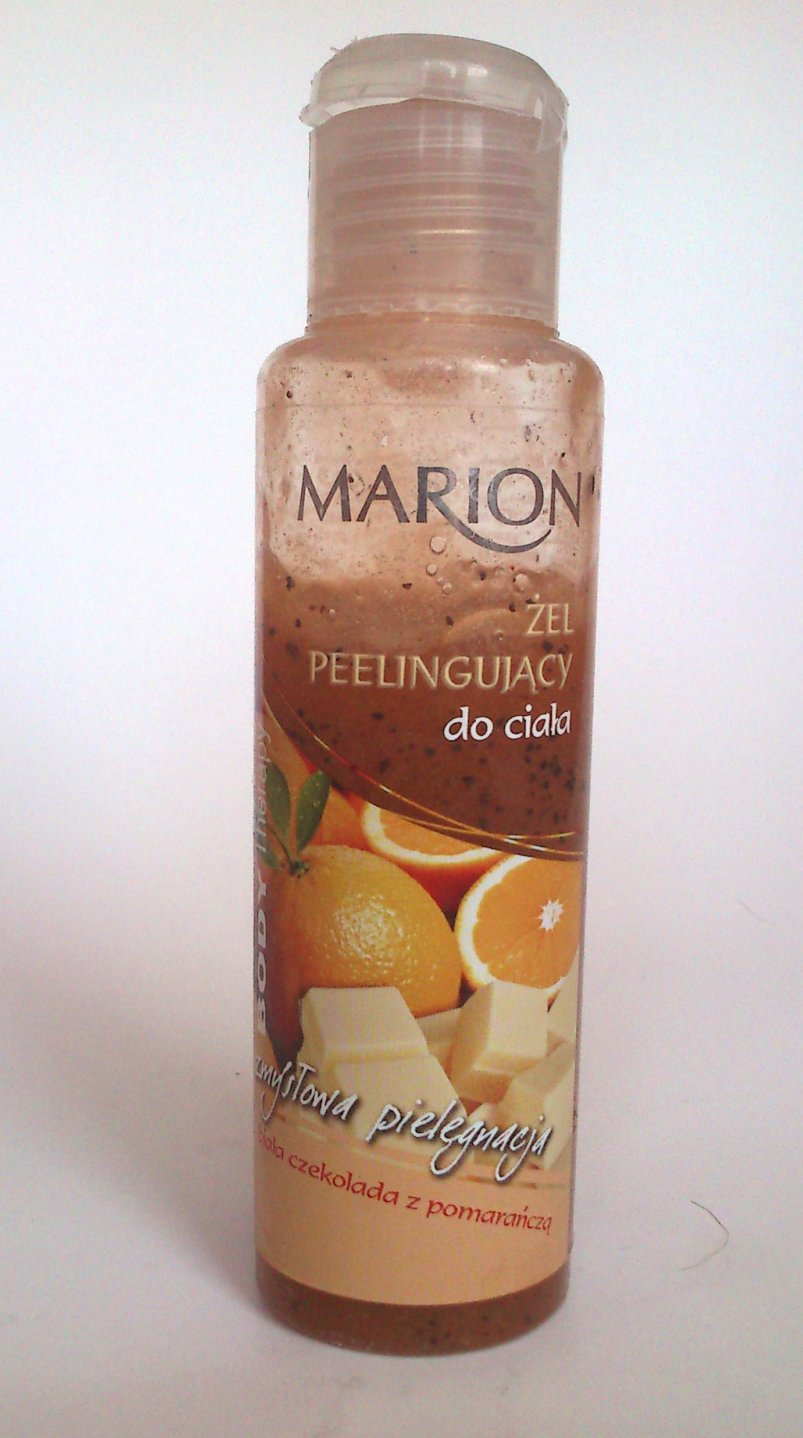 MARION - peeling CZEKOLADA + POMARAŃCZA