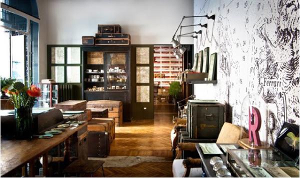 Blog di arredamento e interni home decor for Negozi arredamento vintage milano