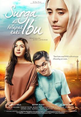 Poster Film Surga Di Telapak Kaki Ibu