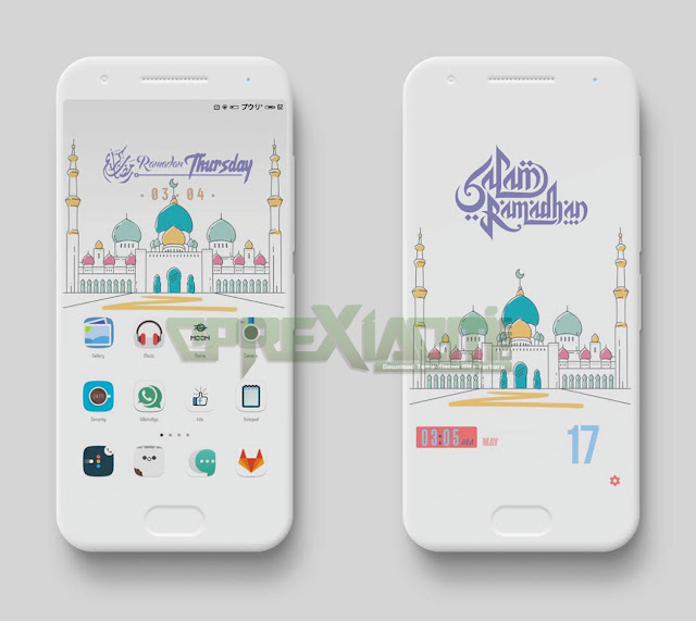 Download Tema Ramadhan Mtz Flat Light Theme Tembus Ke Akar Terbaru