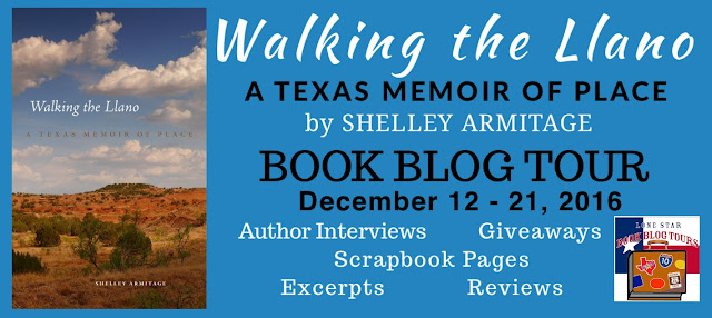 Book Blog Tour and Giveaway: Walking the Llano