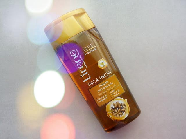 Lirene Olive In-Shower egzotyczny olejek pod prysznic Inca Inchi