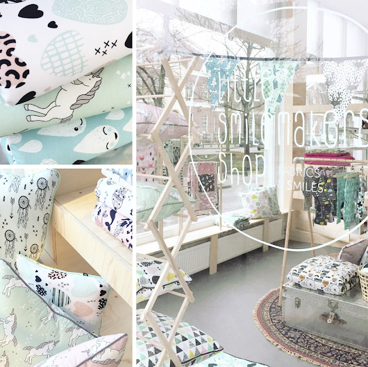 New exclusive fabric collection // Brick and mortar pre-opening // Makerskwartier Den Haag