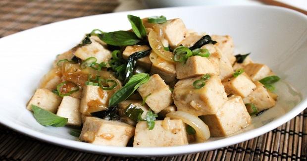 Spicy Basil Tofu Recipe