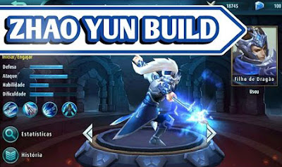 build yun zhao mobile legends