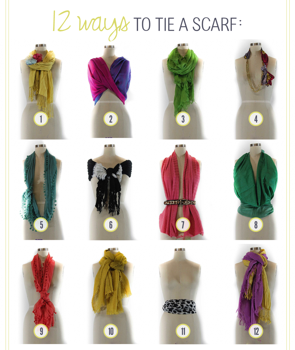 Dooley Noted Style: how to wear a scarf