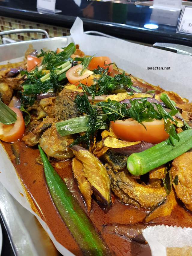 Fish Head Salmon Curry