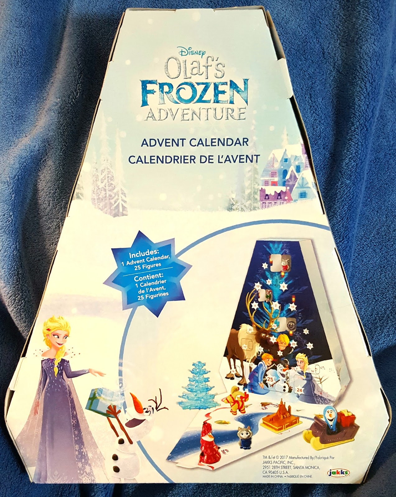 disney at heart olaf 39 s frozen adventure advent calendar. Black Bedroom Furniture Sets. Home Design Ideas