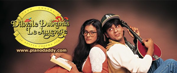 Dilwale Dulhania Le Jayenge (1995) All Song Piano Notes, Music Sheet - Free Notes