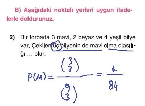 10. Sınıf Matematik Tuna Yayınları Ders Kitabı 67. Sayfa Çözümleri